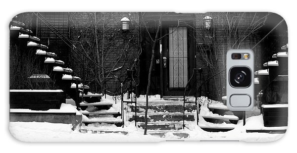 Winter In Montreal Galaxy Case by Robert Knight