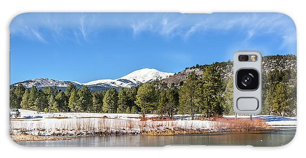 Winter In Ruidoso Galaxy Case