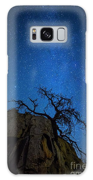 Winter In The Desert Galaxy Case
