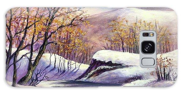 Winter In The Garden Of Eden Galaxy Case by Randy Burns