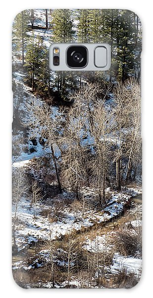 Winter In The Susan River Canyon Galaxy Case