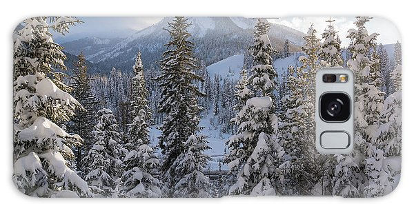 Winter In The Wasatch Galaxy Case