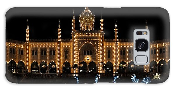 Winter In Tivoli Gardens Galaxy Case