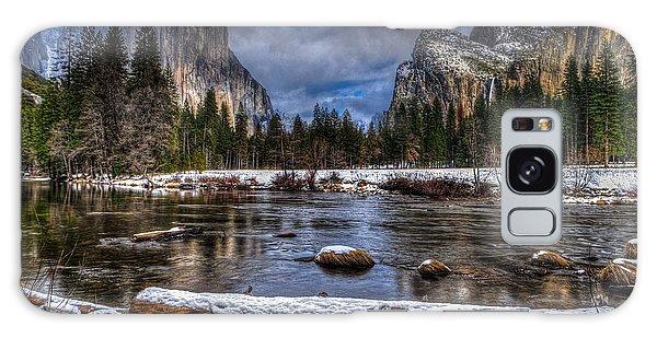 Winter In Yosemite Valley Galaxy Case