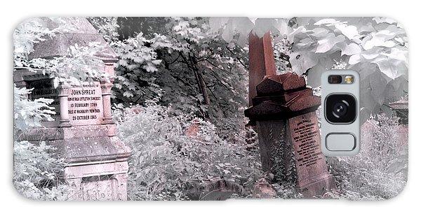 Winter Infrared Cemetery Galaxy Case