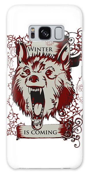 Winter Is Coming Galaxy Case