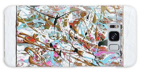 Winter Joy Galaxy Case by Donna Blackhall