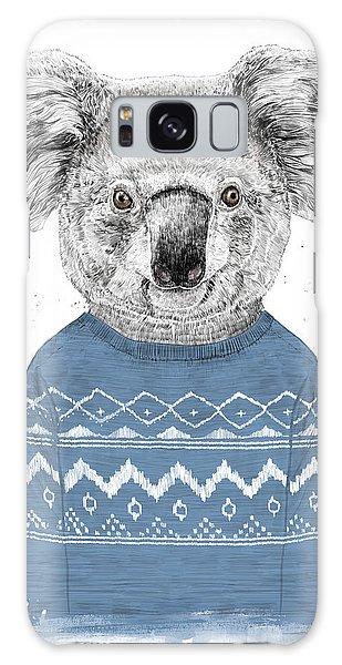 Winter Koala Galaxy Case