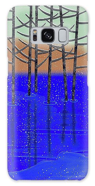 Winter Lake Galaxy Case