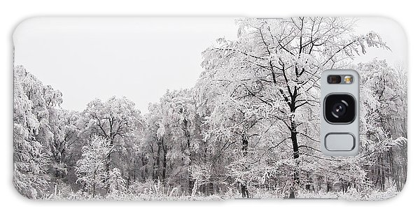 Winter Landscape Galaxy Case by Gabor Pozsgai