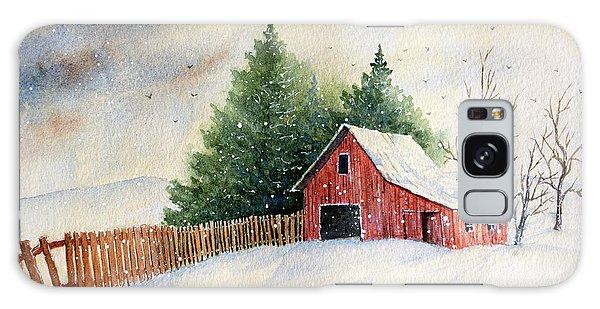 Winter Landscape IIi Galaxy Case