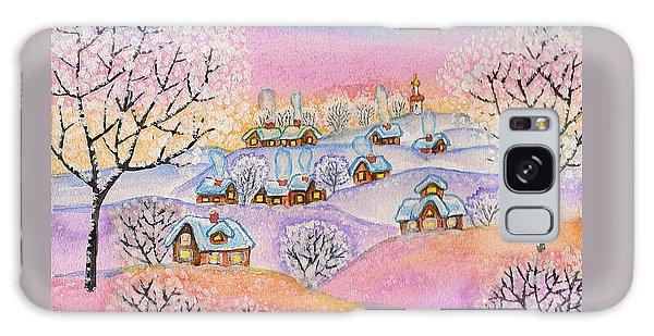 Winter Landscape, Painting Galaxy Case