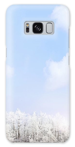 Winter Landscape Galaxy Case