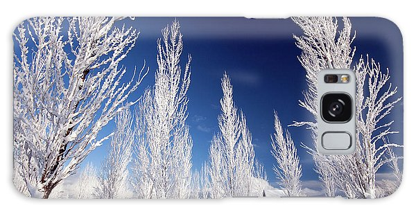 Galaxy Case featuring the photograph Winter Landscape by Wesley Aston