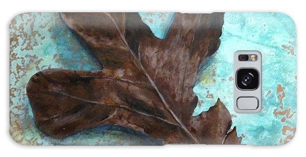 Winter Leaf Galaxy Case