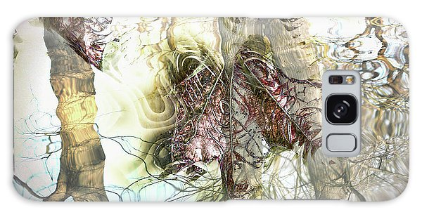 Winter Leaves Galaxy Case by Pennie  McCracken