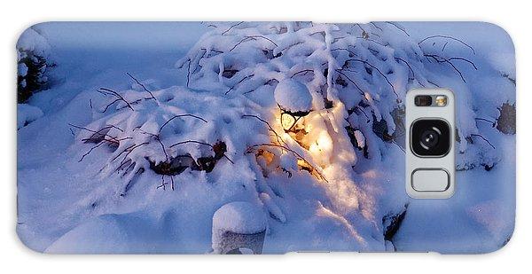 Winter Light Galaxy Case