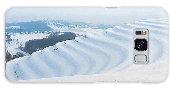 Winter Lines Galaxy Case