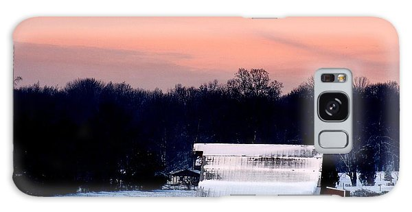 Winter Morn Galaxy Case by Diane Merkle