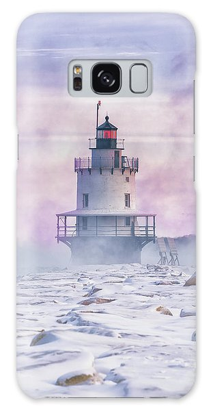 Winter Morning At Spring Point Ledge Galaxy Case