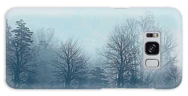 Winter Morning Galaxy Case by Milena Ilieva