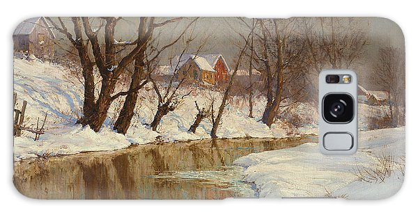 Rural Galaxy S8 Case - Winter Morning by Walter Launt Palmer