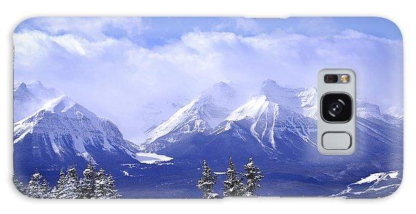 Winter Mountains Galaxy Case