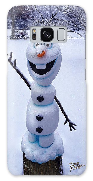 Winter Olaf Galaxy Case