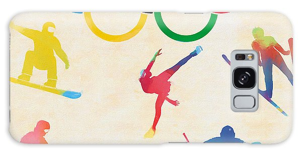 Olympic Figure Skating Galaxy Case - Winter Olympics Games by Dan Sproul
