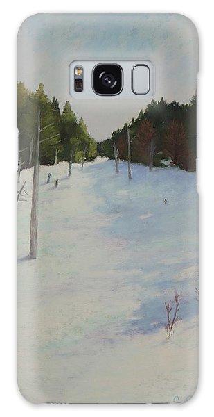 Winter On Moose Pond Galaxy Case