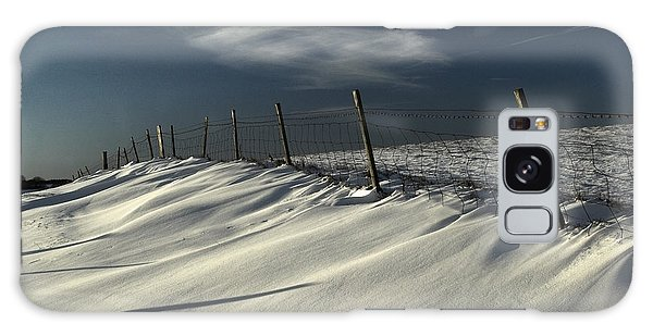 Winter On The South Downs Galaxy Case