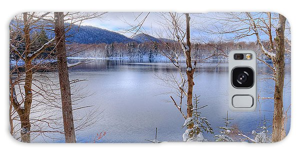 Winter On West Lake Galaxy Case by David Patterson