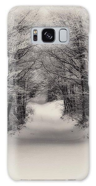 Winter Path Galaxy Case