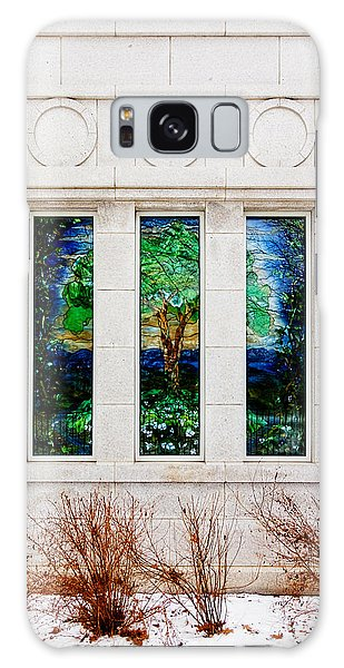 Winter Quarters Temple Tree Of Life Stained Glass Window Details Galaxy Case