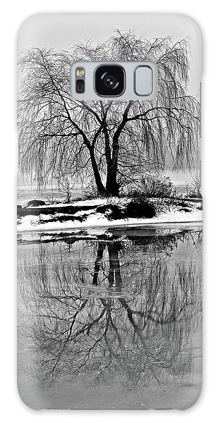 Winter Reflections Galaxy Case