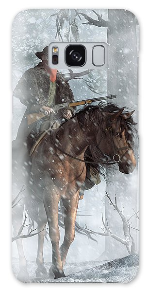 Winter Rider Galaxy Case