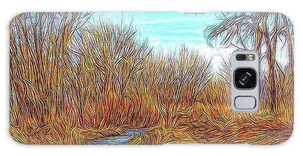 Winter River Breeze Galaxy Case