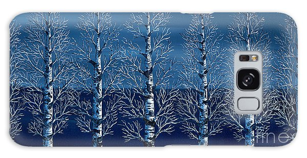 Winter Shadows Galaxy Case
