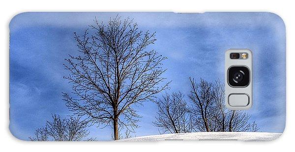 Winter Skyline Galaxy Case