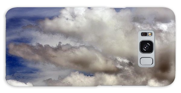Winter Snow Clouds Galaxy Case