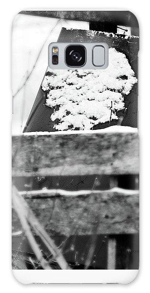 Winter Snow Heart Galaxy Case