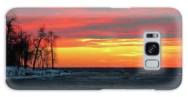 Winter Solstice Eve Galaxy Case