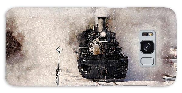 Winter Steam At Rockwood Colorado Galaxy Case