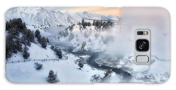 Winter Steam  Galaxy Case by Nicki Frates