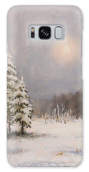 Winter Stillness Galaxy Case