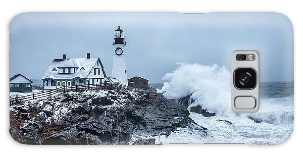 Winter Storm, Portland Headlight Galaxy Case