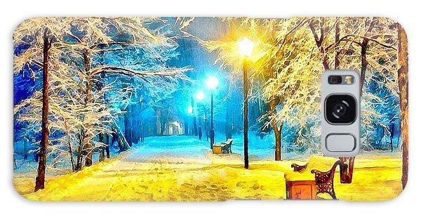 Winter Street Galaxy Case