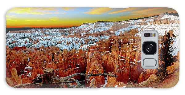 Winter Sunrise At Bryce Galaxy Case