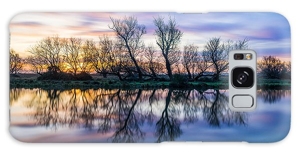 Winter Sunrise Over The Ouse Galaxy Case