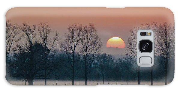 Winter Sunset 1 Galaxy Case